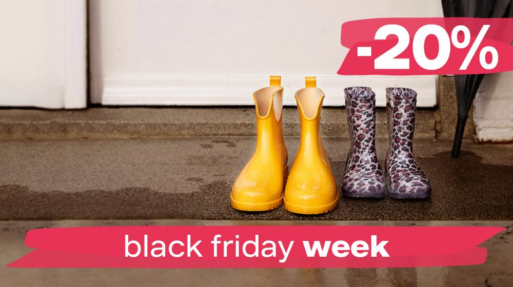 Snowboots en Regenlaarzen Black Friday