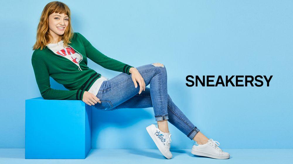 modne sneakery