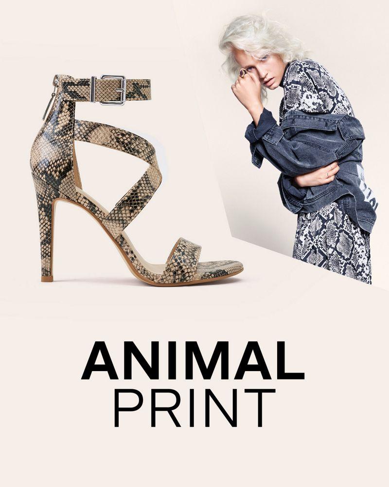 tendencia zapatos y bolsos animal print