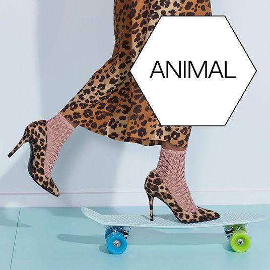 Dierenprint schoenen, Animal Trend vanHaren