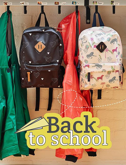 Rugtassen Back to School vanHaren