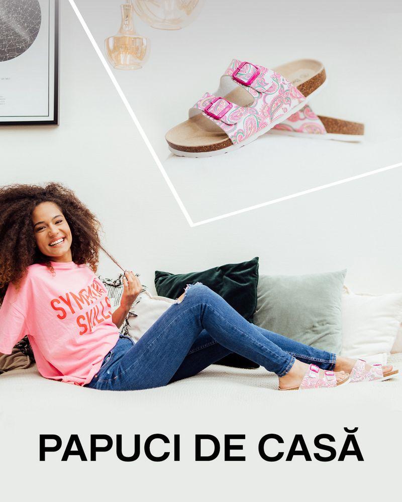 Papuci de casă pentru un plus de confort