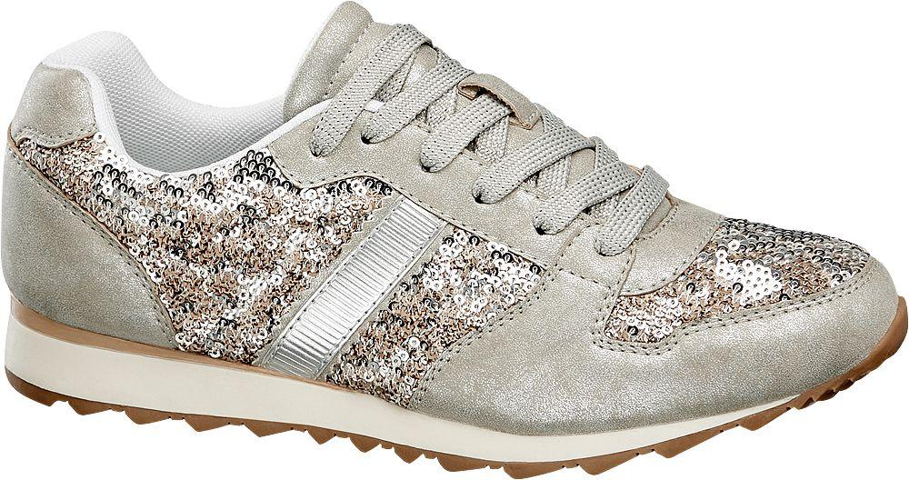 Image of Sneaker con glitter