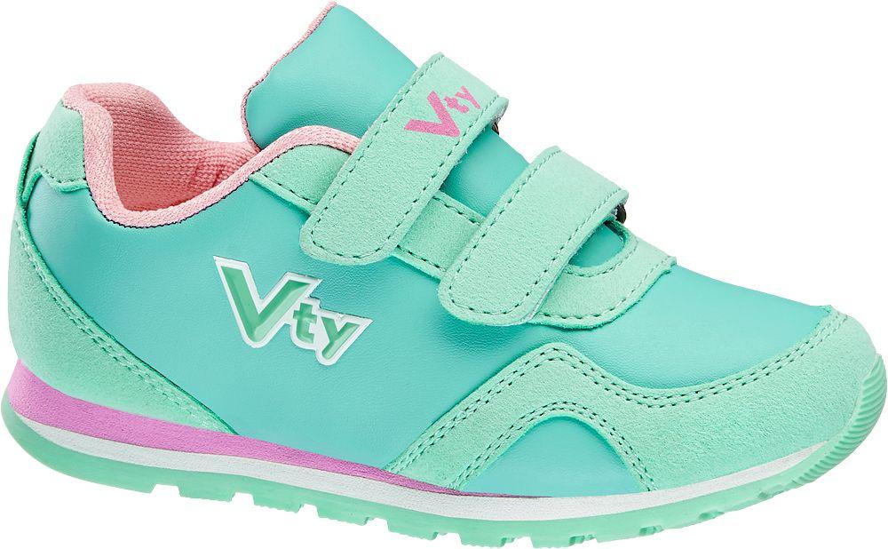 Vty Turkuaz Pembe Bantlı Ayakkabı