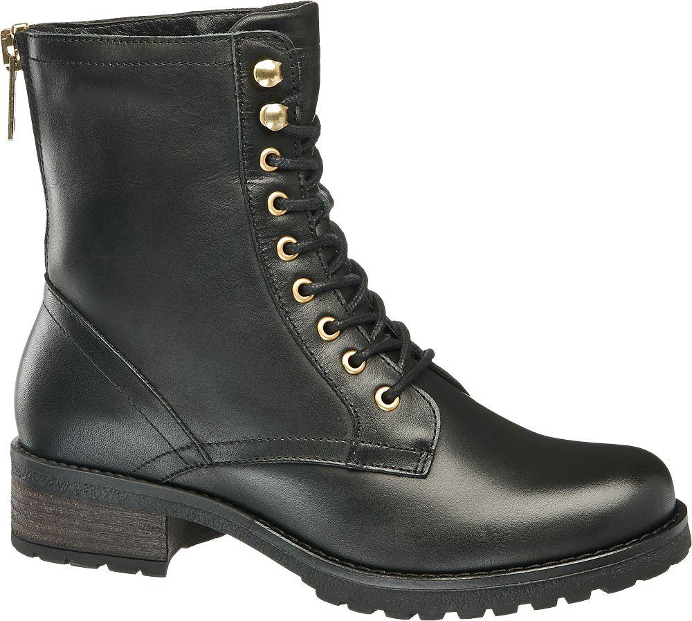 5th Avenue - Kožená šněrovací obuv