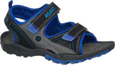 AGAXY Sandale schwarz
