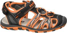 AGAXY Trekking Sandale grau
