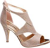 a1b240e0ed3 Catwalk. Rose Gold Sparkle Stiletto High Heels
