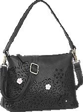 Graceland. Fekete virágmintás válltáska e933be78c9