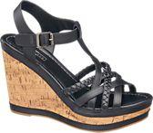 b4f2b04ed8 5th Avenue. Wedge Sandals. Leather