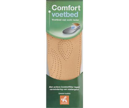 Comfortzool leren voetbed (maat 43)