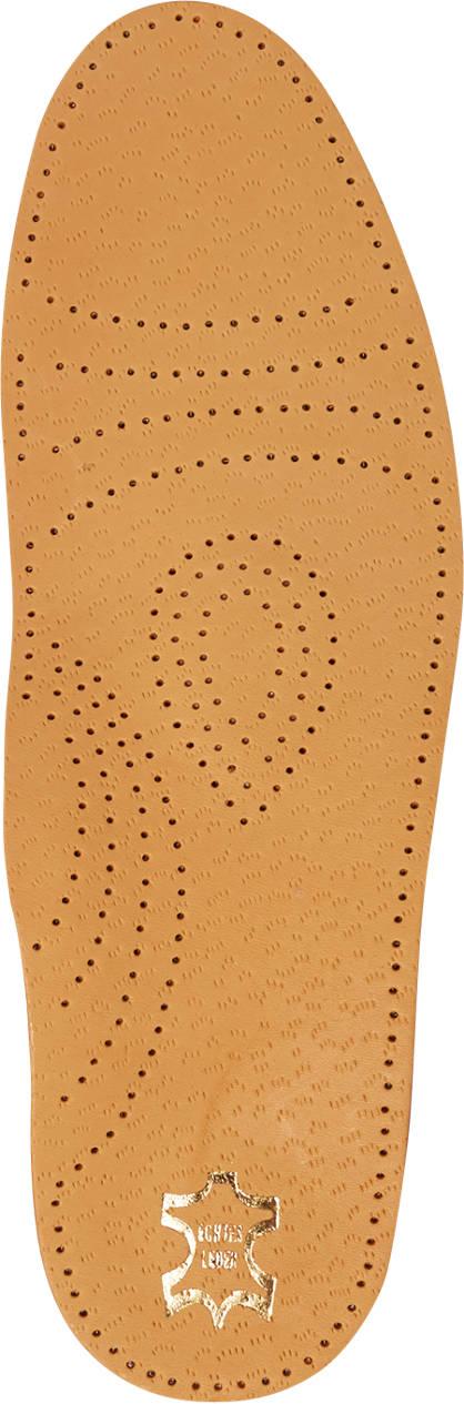 Comfortzool leren voetbed (maat 42)