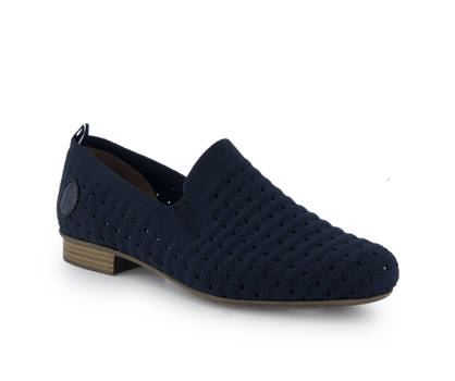 Rieker Rieker slipper donna blu