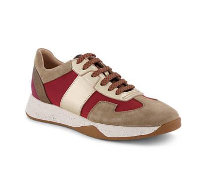 Geox Geox Suzzie Damen Sneaker Beige