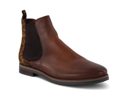Varese Varese Dea Damen Chelsea Boot Cognac