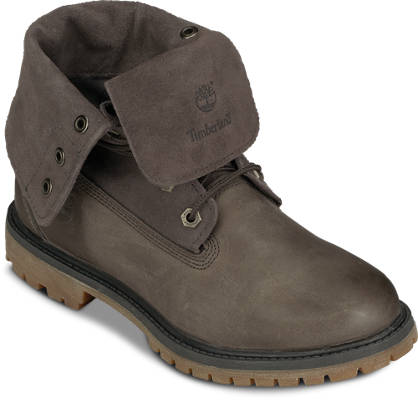 Timberland Schnürboots - AUTHENTICS SUEDE ROLL-TOP BOOT