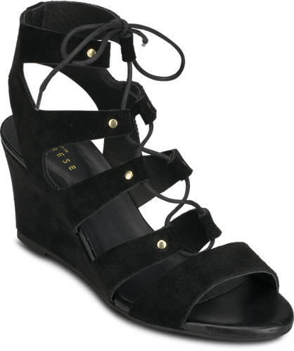 Varese Lace Up-Wedges