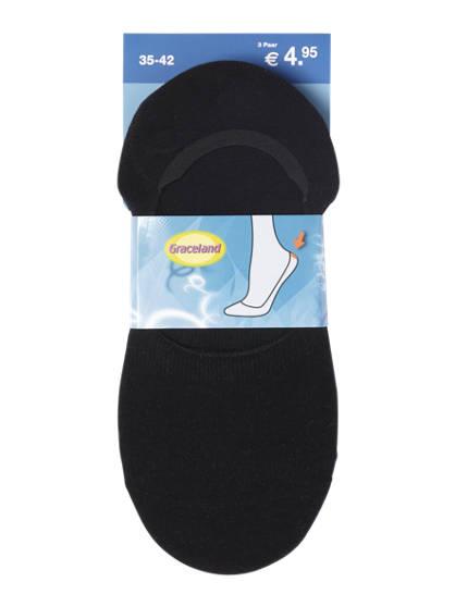 Graceland Sneaker sokken mt 35-42 3-pack