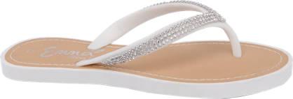 Heart Detail Toe Post Sandal