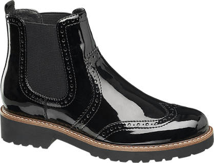 Graceland Chelsea Boots - Lak-Look