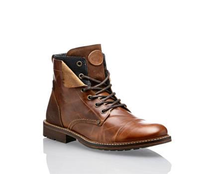 AM Shoe AM Shoe Herren Schnürboot Braun