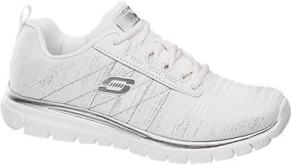 Skechers Witte lightweight sneaker memory foam