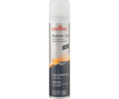 Pedag Pedag spray d'entretien à daim noir 250 ml