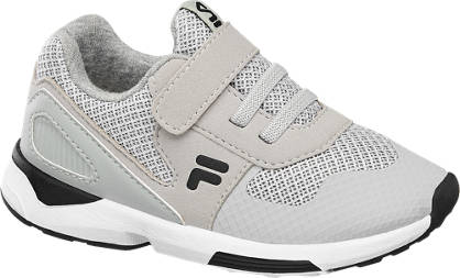 Fila Licht grijze sneaker klittenband