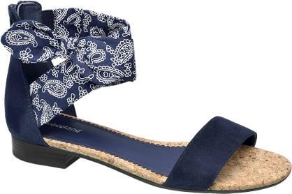 Graceland Blauwe sandaal ritssluitng
