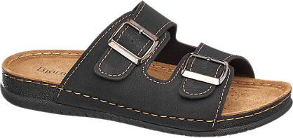 Björndal Zwarte sandaal gespsluiting