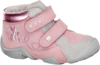 Elefanten Roze leren sneaker