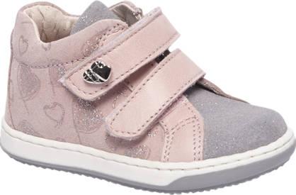 Cupcake Couture Roze leren sneaker glitters