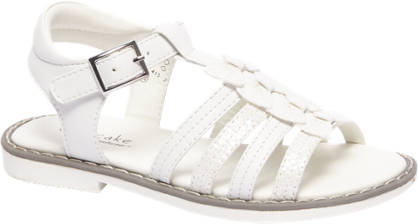 Cupcake Couture Witte sandaal gespsluiting