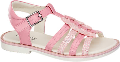 Cupcake Couture Roze sandaal gespsluiting