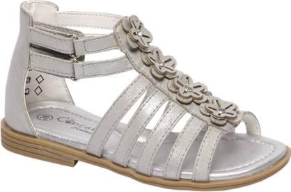 Cupcake Couture Grijze sandaal met klittenband