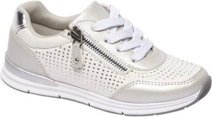 Graceland Wiite sneaker strass