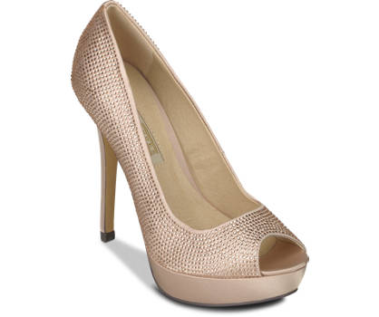 Buffalo Peeptoe-Pumps