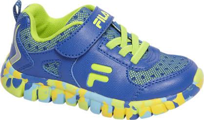 Fila Blauwe sneaker legerprint