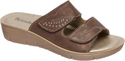 Björndal Bruine sandaal klittenband