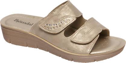 Björndal Gouden sandaal klittenband