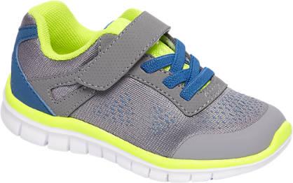 Bobbi-Shoes Grijze lightweight sneaker