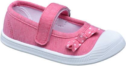Cupcake Couture Roze canvas schoen klittenband