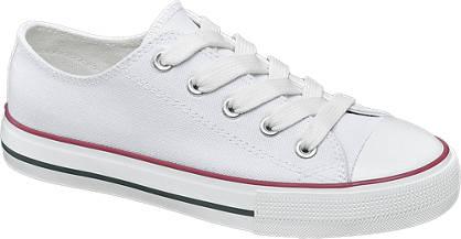 Graceland Witte canvas sneaker