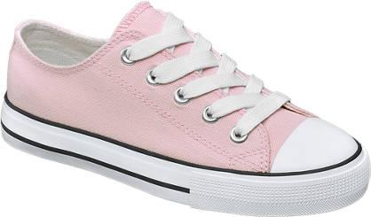 Graceland Roze canvas sneaker