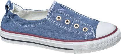 Vty Blauwe instap sneaker