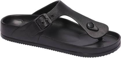 Zwarte sandaal gesp