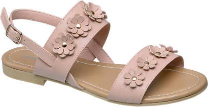 Graceland Rose sandaal bloemen