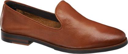 5th Avenue Bruine leren loafer