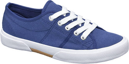 Vty Blauwe sneaker canvas