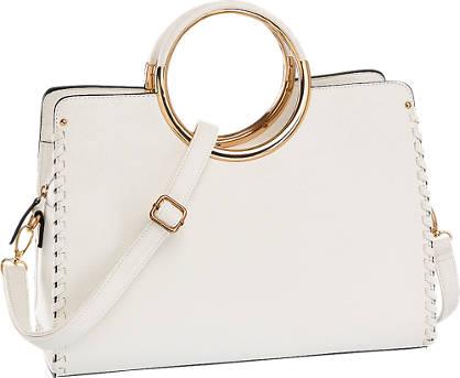 Graceland Witte handtas gouden details